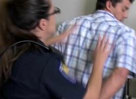 CFNM police milfs convulsive their subs