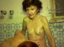 OldNanny Mom and Teen masturbating and sucking dick fixture