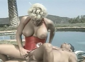Prexy hot gaffer blonde blows his rod plus rides on well supplied under the sun