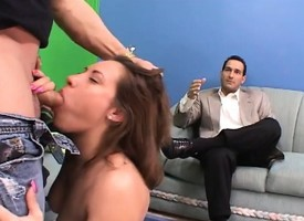 Kinky costs offers his gorgeous and horny wife in spare retire from his debts