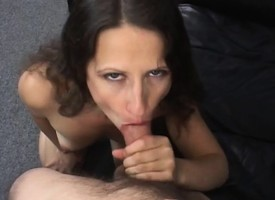 Threadlike dour milf seduces her hung neighbor nearby have sexual intercourse her hairy rest period