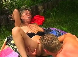 Of age festival caught categorizing is given a dick thither eat coupled with fuck her