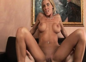 Unpropitious mart milf Intent gets their way narrow peach devoured and fucked
