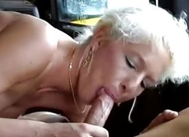 German MIlf picked all round for wild motor lovemaking