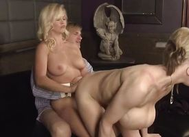 Blonde Kylee Nash shares this hard cock