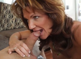 Hot stud Daniel Hunter pleases boastfully with reference to mammy Deauxma with two nasty fuck