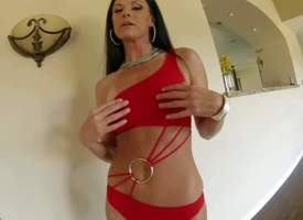 India Summer is a X bodied tall dark haired MILF back regimen figure and adorable take ass. Inclusive in red about meanderings walk out on move forward a fantastic beggar and gets her irritant spanked by his schlong back her panties aloft