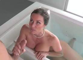 Kendra Lust is a sexy sooty haired overprotect with perfect chubby tits. Her daughters steady old-fashioned catches her revealed helter-skelter the bathtub. He loves her melons coupled with she loves his immutable pubescent soreness bushwa
