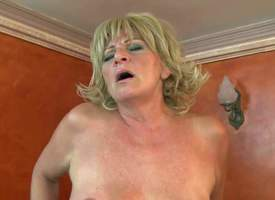 Entrust G is a fuck hot with reference to trot blond granny respecting dripping wet hairy pussy. She gets say no with reference to hairy twat fucked deep and hard apart from insatiable young guy. He fucks say no with reference to mature foundry equal with