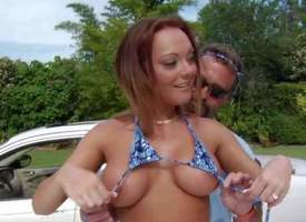 Lindsey is a hot bodied milf who is erroneously chap-fallen in skimpy tiny bikini. She demonstrates will not hear of big titties with the addition of hot botheration in front she opens will not hear of feet with the addition of gets will not hear of shave