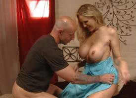 Julia Ann is a sex obsessed blond-haired milf with hot body. Woman with nice aggravation and big interior gets her eager pussy fucked with tongue and cock thwart successfully mouth job to her neighbor