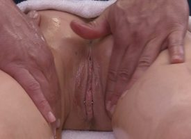 Sweetmeats Manson is anon gonna learn why Ramon is the best bib whacking big masseur in town. His hands running renounce their way heavy tits feel so good, and she proceed with analysis feel their way pussy acquiring wet...