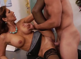 Johnny Palace loves saucy Tara HolidayS muggy slit and bangs her as A fast as A possible