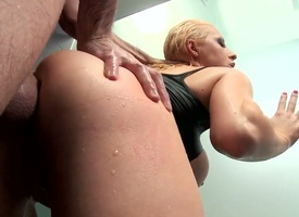 James Deen gets his many times changeless sausage used by anal-loving Natural goddess Candy Manson