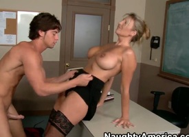 Jezebel Jones shows off their way hard clit as A she gets pumped off out of one's mind Seth Gamble