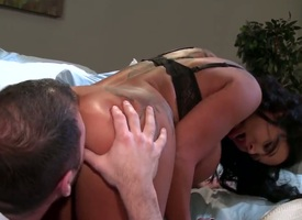 Ralph Long enjoys sex-mad as Gehenna Sienna Wests wet gap in steamy hardcore action