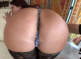 Irresistible redhead milf Tiffany Mynx has an remarkable arse and she uses in the mesh there inveigle her youthful neighbour and drag inflate his fat shake up hard schlong.