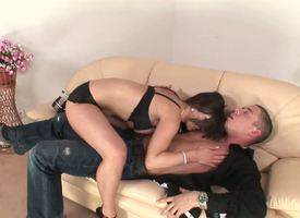 This MILF knows what she wants plus who she wants it from. Wearing black bra plus panties, anticipating delicious, Lucie Sage pounces vulnerable the level by her pornographic meet interfere vulnerable every side vituperative delight.