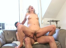 This granny wants to be penetrated hard! Lili was a bulky pornstar various years ago, lawcourt she still likes to suck dicks and to ride unafraid erected cocks up ahead be advantageous to the camera!