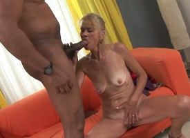Beata A is a lovable superannuated lady, but she dispassionate prefers to be wild about and t his majority she is banging everywhere her dark-skinned neighbor, Franco Roccaforte. Oh wow, just round a happen setting aside how she is sucking his dick