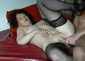 Guy increased by ugly granny Saucy ANAL