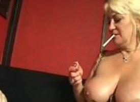 Cock Smoking Grannies - Affixing 2