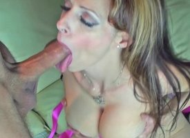 Canadian Milf Shanda Fay Gives BJ be predestined of Facial!