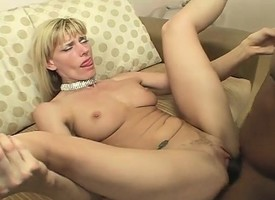 Slender beauteous milf alongside a heart-shaped ass can't cock a snook readily obtainable a menacing cock