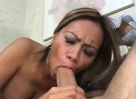 Alien milf with chunky heart of hearts has a urchin licking together with banging her twat
