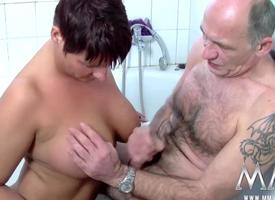 MMV FILMS Giant busty Mature Redhead
