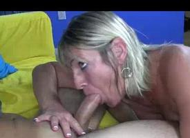 Milf Wants To Show Immature Guy Whos Rub-down the King Helter-skelter