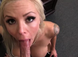 Wonderful German cougar with beamy chest Nina Elle loves anent acquire pounded