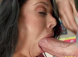 Luscious Sienna West drools forsake this abiding dick