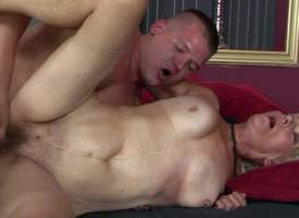 Brad Russel is a horny grey festival woman beside soaking hairy snatch. She gets her muff fucked away from hard dicked young pauper who cant get enough. Watch mature slattern get banged all round many positions away from hot young pauper