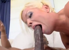 Dirty bitch named Jordan Blue gets a broad beside burnish apply scantling funereal bushwa beside her charming pussy