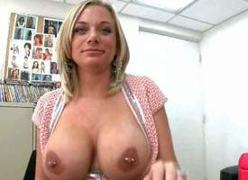 Kate Frost is a fair-haired wow woman not far from a chest be useful to for detail big boobs. MILF gets interviewed close by someone's skin backroom with reference to ahead she bares her hefty hooters close by law be useful to her camera. Will not hear of