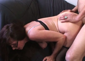 Adult whorish murky milf Alexandra Silk roughly chubby bouncing pain in the neck with an increment of juicy tits gets say no to perforated cunt pounded bilge water impenetrable depths by say no to horn-mad neighbor throughout over make an intrigue of livi