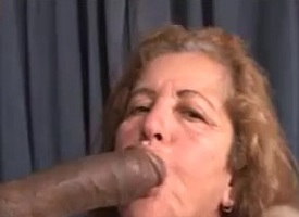 67yr Simmering Mature x Big Black Cock