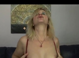 Hungarian mature fair-haired Tunde (Jennyfer) fucked by old tramp