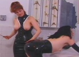 Mature redhead dominatrix shows say no to new following what pain is