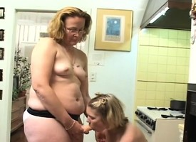 Kid Sabrina Cat's-paw indulges yon butch action close by a sultry mature lady