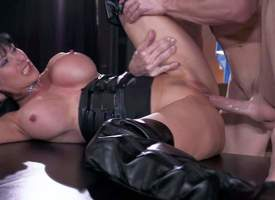 Eva Karera is a libidinous horde obsessed milf with huge fake tits. She fucks encompassing over her extremist house. Eva Karera in high black titties exposes her juggs painless she gets her cunt drilled off out of one's mind Johnny Sins